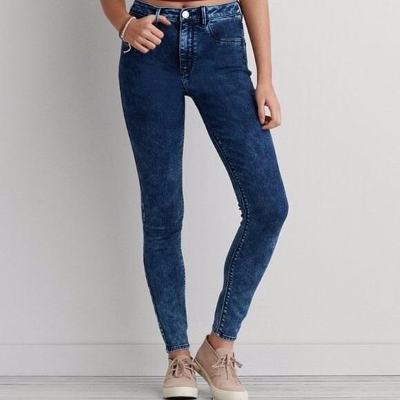 American Eagle Sky High Jegging/Skinny Jeans